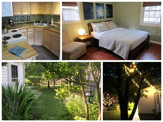 Private Serenity Cottage-Mountain Biker & Parkway Retreat w/full kitchen for 4