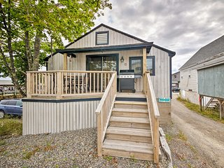 NEW! Renovated Southwest Harbor Cottage on a Dock!