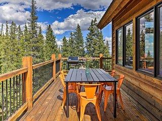 NEW! Expansive Fairplay Cabin w/ Wraparound Deck!