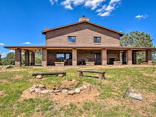 NEW! Expansive Home in Tonto NF w/ Fire Pit & BBQ!