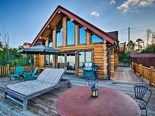 NEW-Mt Lemmon Log Cabin w/BBQ & Sweeping Mtn Views