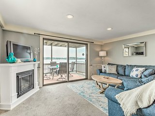 Oceanfront Salem Condo w/ Deck, Walk to Beach
