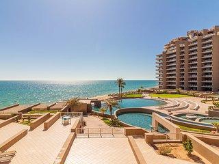 Third Floor Ocean Front Views! Steps From the Beach! 2 Bedroom Las Palomas Condo