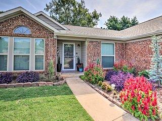 Updated Edmond Home w/Patio & Yard Near OKC!