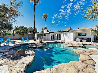 Luxury Home w/ Heated Lagoon-Style Pool, Lavish Kitchen & 2 Living Areas