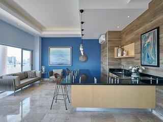 Shalom VI 2B . Luxury 1BR apart w/jacuzzi, terrace SDQRentals