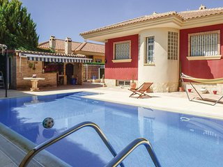 Beautiful home in Lorqui w/ Outdoor swimming pool, WiFi and 3 Bedrooms (ECC759)