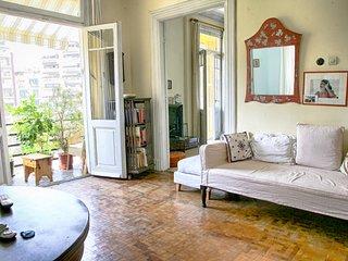 halu! #Palmtree: Vintage Apartment in Historic Center