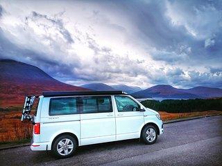 VW T6 Campervan Hire Scotland - Classic Camper Holidays - Harris