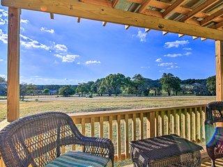 NEW! Ranch Cabin w/ Decks, 10 Mi to Fredericksburg