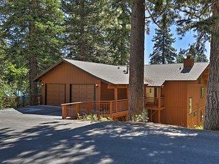 NEW! Resort Home 3mi to Lake Tahoe & Ski Resort!