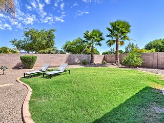 Gilbert Retreat with Private Backyard Oasis