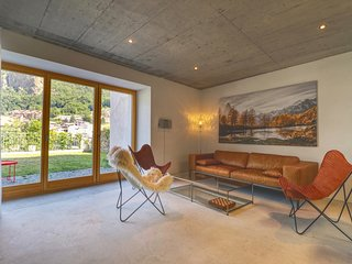 Modern house in the old town of Visp