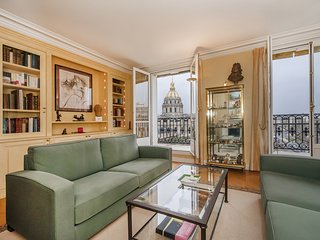INSURANCE INCL. 2BD Large apartment at Invalides