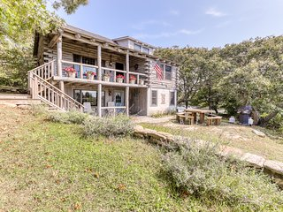 NEW LISTING! Rustic, waterfront home w/deck, lake/ocean views-1/4 mile to beach