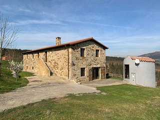 Casa rural de piedra en un paraje excepcional