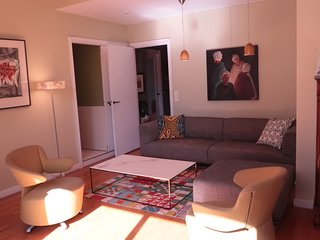 Near Eiffel tower-Latin Q., Modern1bedroom apt with king size bed,a/c, terrrace