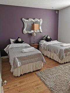 Bedroom 2 as two singles