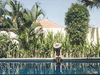 A Hidden Oasis Nestled Among Rice Fields in Canggu