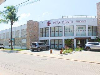 Charmoso apartamento com 2 quartos no Pipa Ubaia perto do Centro