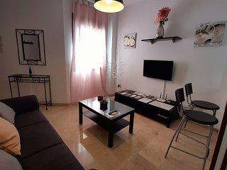 Apartamento céntrico, acogedor, wifi y parking gratis en Ronda.