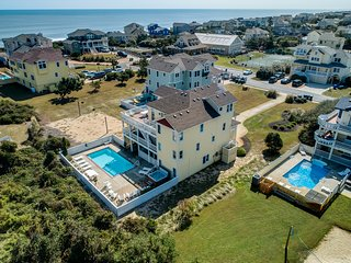 Wine N' Sea | 348 ft from the Beach | Dog Friendly, Private Pool, Hot Tub | Duck