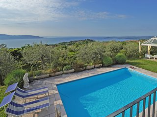 Splendid Villa with private pool and panoramic lake view surrounded by biggarden