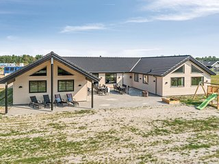 Amazing home in Nørre Nebel w/ WiFi, 8 Bedrooms and Indoor swimming pool (P4247