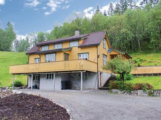 Awesome home in Eikefjord w/ WiFi and 4 Bedrooms (N24115)