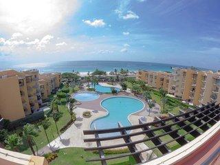 BEACHFRONT - EAGLE BEACH - OCEANIA RESORT - Best View Penthouse 4BR condo