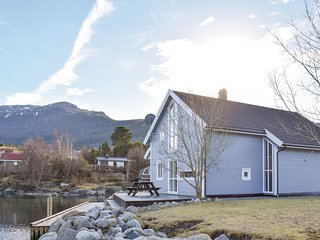 Awesome home in Bjoa w/ Sauna and 4 Bedrooms (N17804)