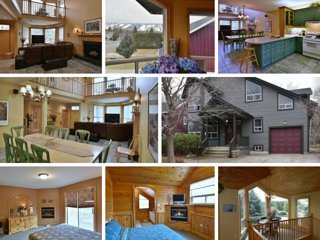 Fantastic 5 Bed Blue Mountain Chalet - Steps to Skiing & Shopping - Sleeps 14