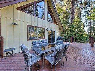NEW! Twain Harte Mountain Cabin - 3 Mi to Downtown