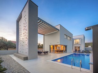 Modern Villa Activia, in Dalmatia, with a Pool