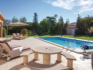 Nice home in Prades sur Vernazobre w/ Outdoor swimming pool, Outdoor swimming po