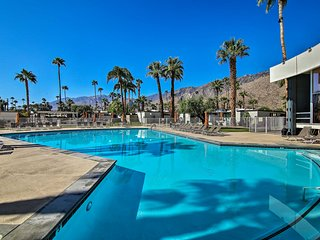 Palm Springs Contemporary Condo w/Pool + Gym