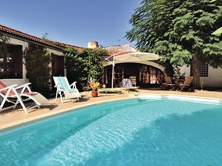 Awesome home in Lapalud w/ Outdoor swimming pool, WiFi and Outdoor swimming pool