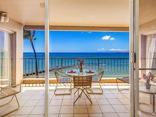 Menehune Shores 315 Direct Ocean Front 3 bedroom