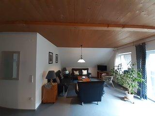 Gemutliche Ferienwohnung****, 2-5 Pers., 75qm, Balkon, 2 Schlafzimmer, wifi free