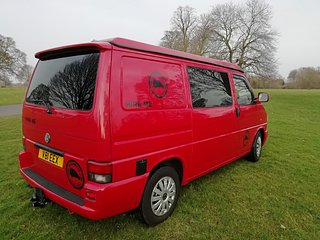 Carlisle Campers Cumbria Lake District Campervan Rental/ Hire Volkswagen T4