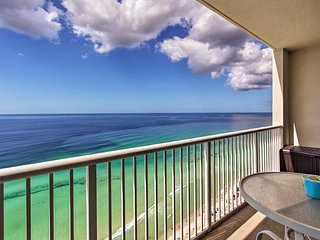 Oceanfront Panama City Beach Resort Condo w/Lanai!