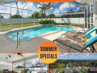 34% OFF! SWFL Rentals - Villa Sun Daze - Beautiful 3 Bedroom Home w/Western Expo