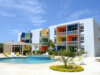 Discounted 60% Isla Bonita 2 Bed/2 bath condo w/Pool near Eagle Beach & Noord