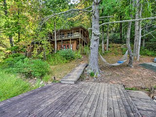 Chattooga Lakefront Cabin w/ Hot Tub + Pvt. Dock!