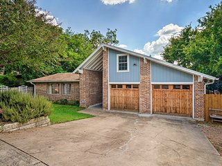 Austin House w/ Patio - Walk to West 6th St!