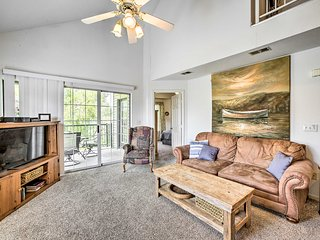 Two-Story Condo on Holiday Hills Golf Course!