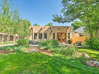 Sleek Old Colorado City Home w/Yard, Walk to Cafes