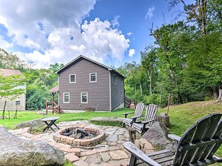 Cabin w/Fire Pit + Beech Mountain Club Access