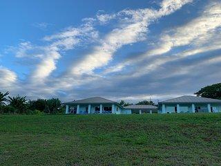 Oceanfront, Ecofriendly. Koili Point, Papaikou, Hawaii,  AC. 2 Bdr/2 Bath w/Wifi