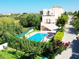 Modern villa,Walking distance to beach,Private pool,Near tavern,Chania 3